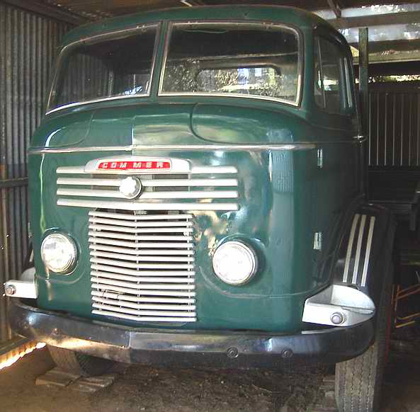 hillman car club  south australia commer ts truck   greenock aviation museum