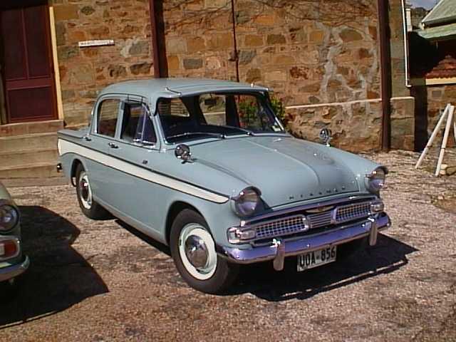 Hillman Car Club Of South Australia Ern Broughton Minx Series