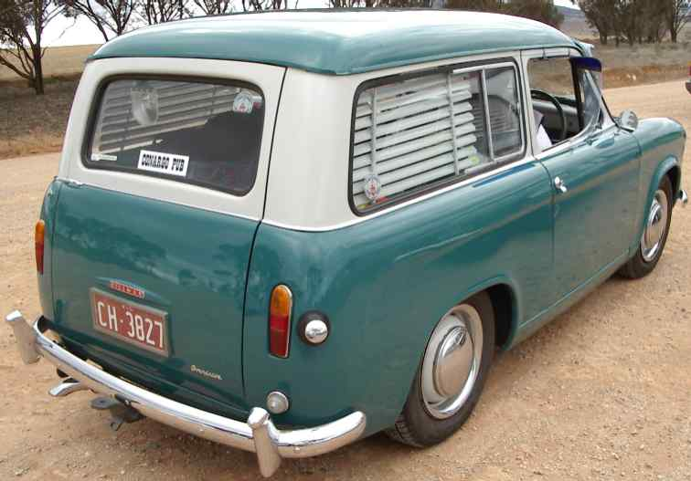 Hillman Car Club of South Australia – Hillman Husky Series I