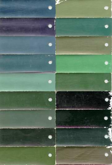 Hillman Car Club Of South Australia Ici Paint Colours